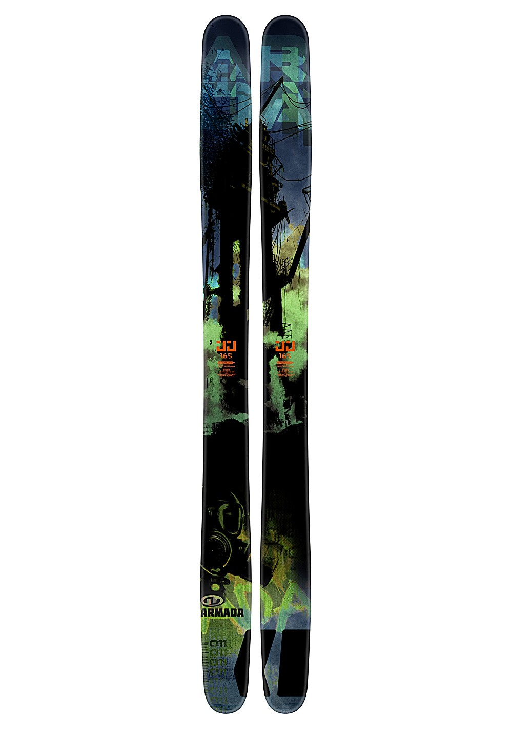 Armada JJ skis 185